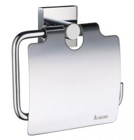 Držák na toaletní papír s krytem SMEDBO HOUSE - Chrom lesklý