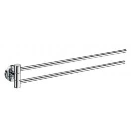 Towel rail swing-arm SMEDBO HOME - Polished chrome